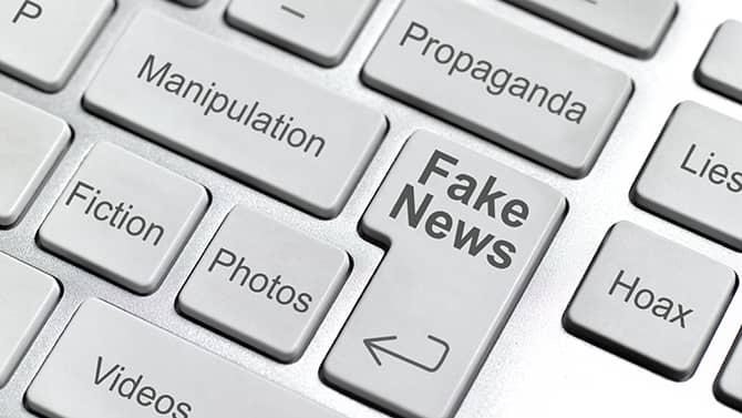 Ejemplos de noticias falsas